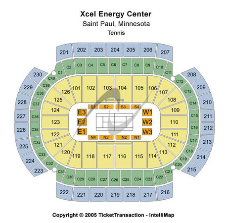 Xcel Energy Center Tennis
