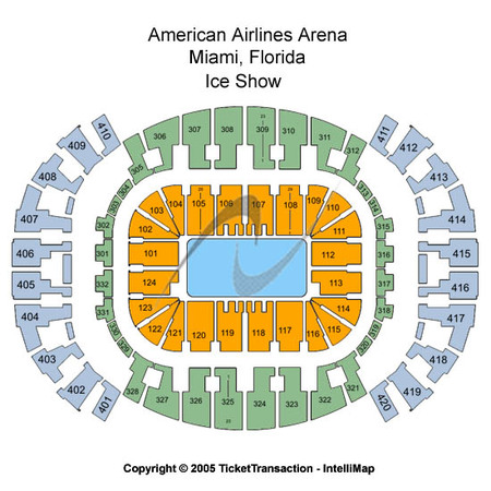 AmericanAirlines Arena Ice Show