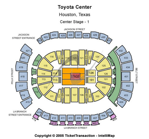 Toyota Center Center Stage - 1