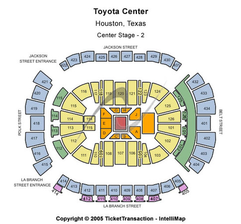 Toyota Center Center Stage - 2