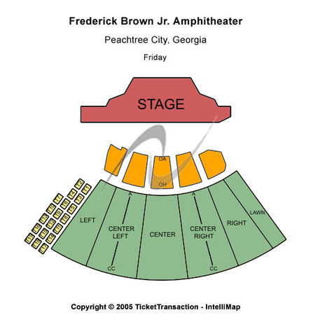Frederick Brown Jr Amphitheatre Tickets In Peachtree City Georgia Seating Charts Events And Schedule