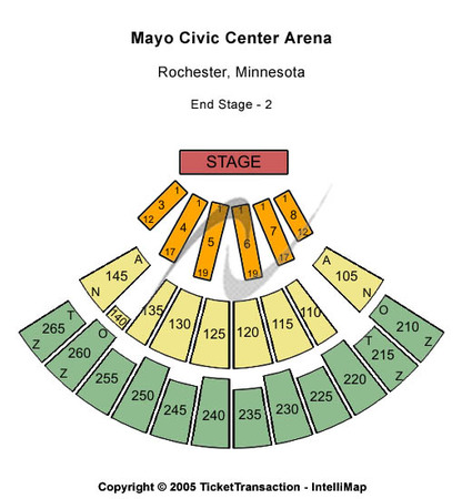 Mayo Civic Center Arena End Stage 2