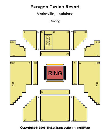 Paragon City Center Seating Chart