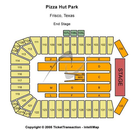 Toyota stadium tickets in frisco texas toyota stadium seating