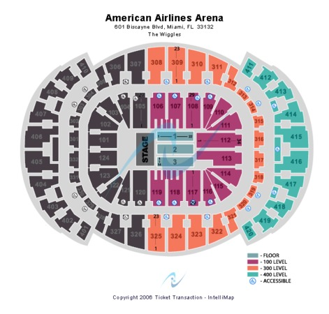AmericanAirlines Arena Wiggles