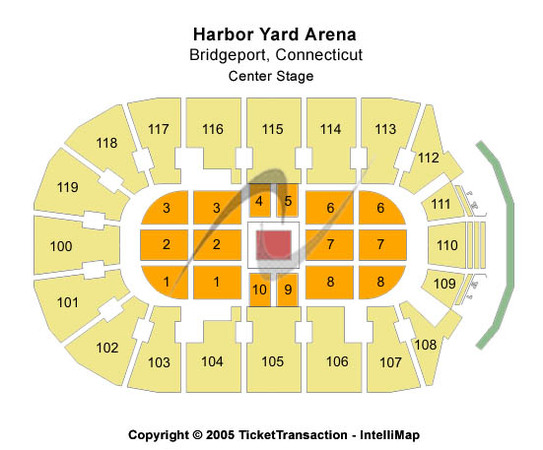 Webster Bank Arena At Harbor Yard Center Stage