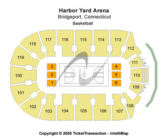 Webster Bank Arena At Harbor Yard Basketball