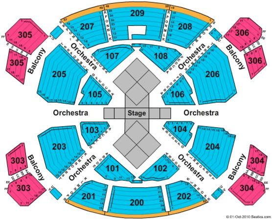 Love Theatre Mirage Las Vegas Tickets In Las Vegas Nevada Seating