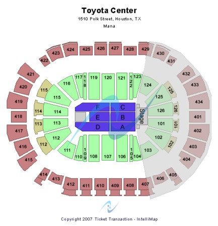 Toyota Center Mana