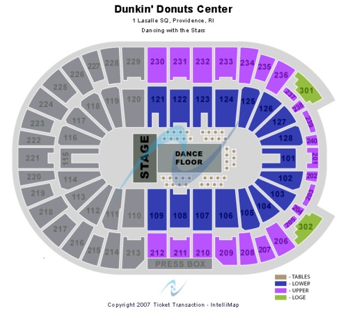 Dunkin Donuts Center Dancing With the Stars