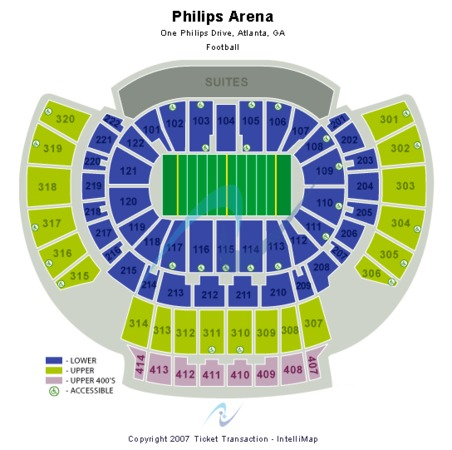 Philips Arena Arena Football