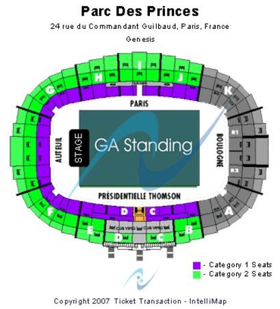 Parc Des Princes Tickets In Paris Ville De Paris Parc Des Princes Seating Charts Events And Schedule