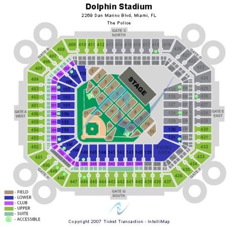 Hard Rock Stadium Tickets In Miami Gardens Florida Hard Rock Stadium Seating Charts Events And