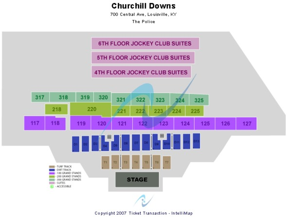 Churchill Downs End Stage
