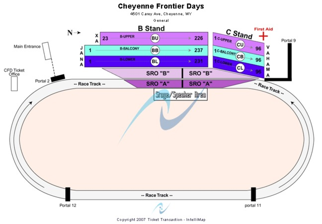 Cheyenne Frontier Days Tickets In Cheyenne Wyoming Seating Charts Events And Schedule
