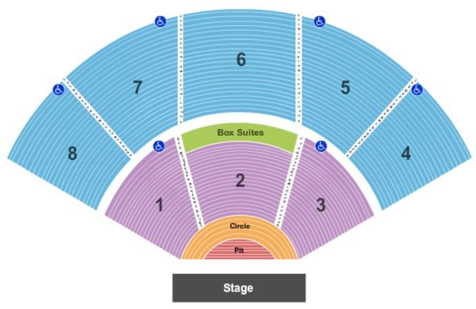 Pacific Amphitheatre Full House