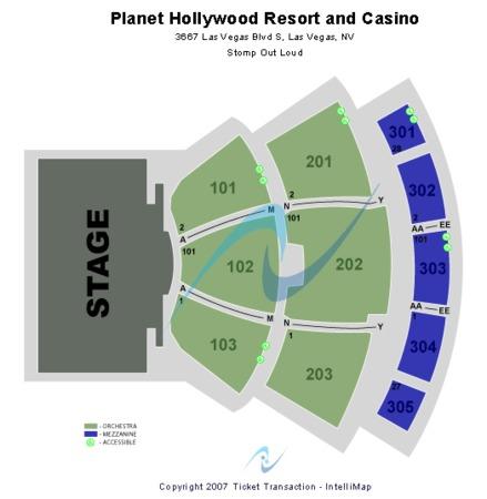 planet hollywood showroom planet hollywood resort casino tickets in las vegas nevada. Black Bedroom Furniture Sets. Home Design Ideas