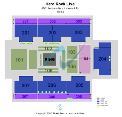 Hard Rock Live At The Seminole Hard Rock Hotel & Casino - Hollywood Boxing