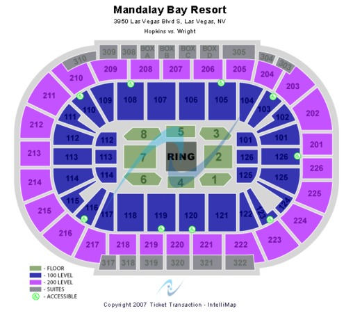 Mandalay Bay - Events Center Hopkins (boxing)