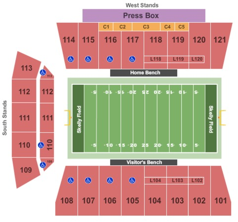 Skelly Field at H.A. Chapman Stadium Tickets in Tulsa ...