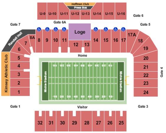 Michie Stadium Tickets In West Point New York Michie