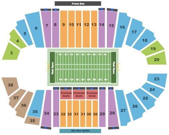 Bulldog Stadium Tickets In Fresno California Bulldog