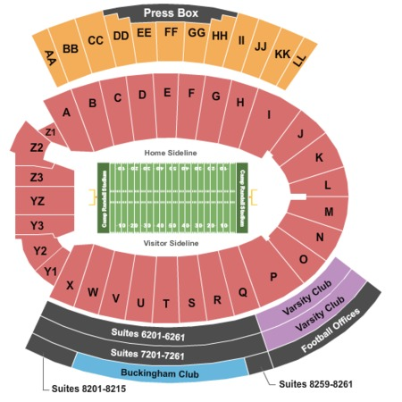 camp randall stadium tickets in madison wisconsin seating. Black Bedroom Furniture Sets. Home Design Ideas