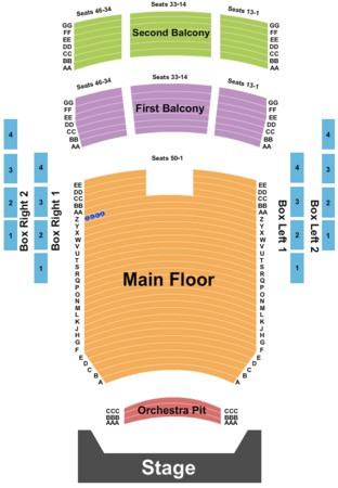 Peoria Civic Center - Theatre Tickets in Peoria Illinois ...