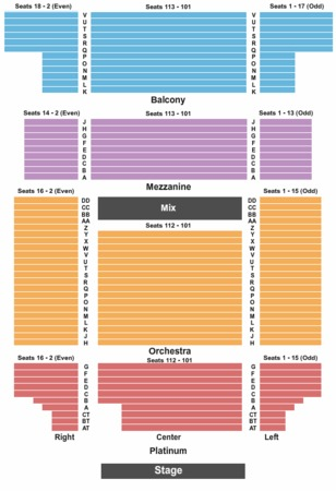 Bergen Performing Arts Center Tickets In Englewood New Jersey