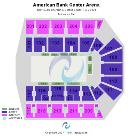 American Bank Center Disney on Ice