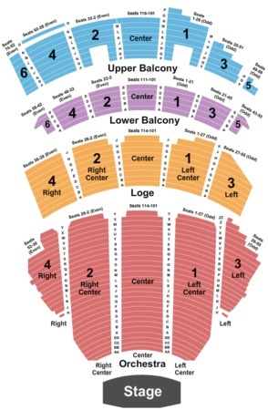 Beacon Theatre Tickets In New York Beacon Theatre Seating