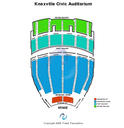 Knoxville Civic Coliseum Celtic Woman