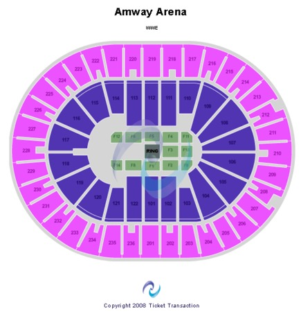 Amway Arena WWE