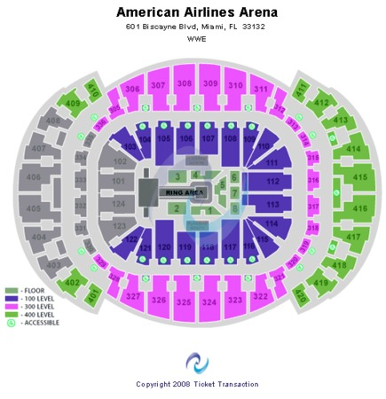 AmericanAirlines Arena Wrestling/Boxing