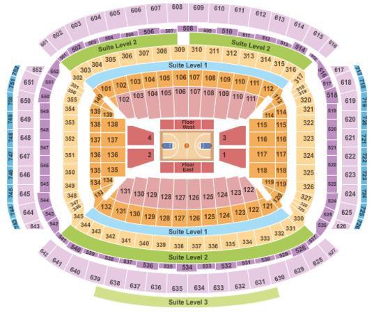 Nrg Stadium Tickets In Houston Texas Nrg Stadium Seating