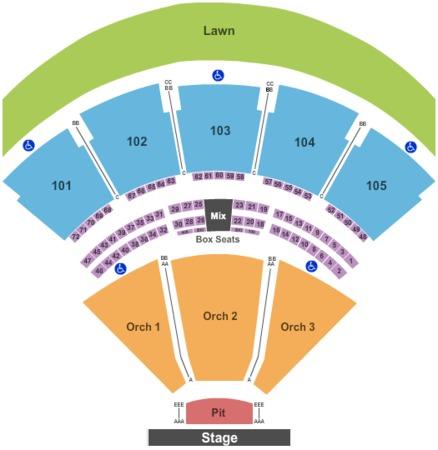 Concert Seating Verizon Amphitheatre Autos Post