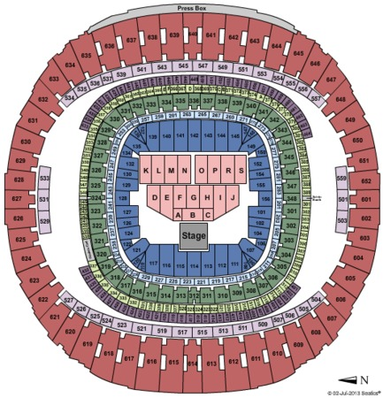 mercedes benz superdome tickets in new orleans louisiana seating. Cars Review. Best American Auto & Cars Review