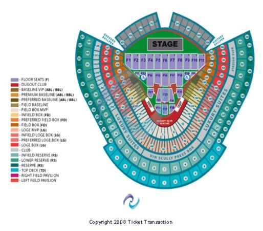 Dodger Stadium Madonna
