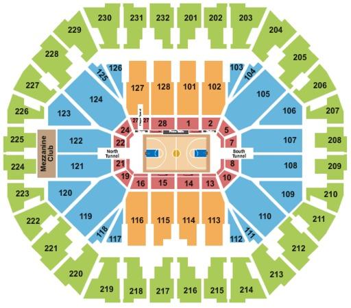 Oracle Stadium: 2~Sec 203~NBA Finals Tickets~Game 2~Golden State Warriors