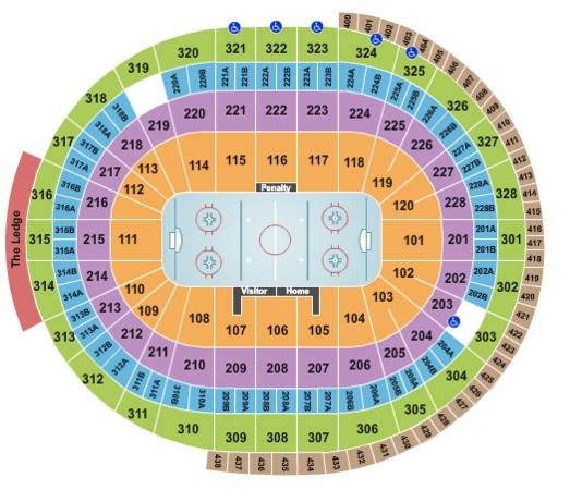 Canadian Tire Centre Hockey