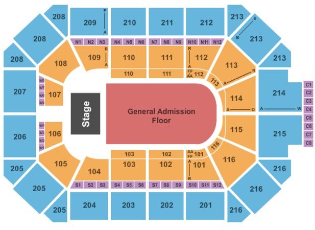 Allstate Arena Tickets In Rosemont Illinois Allstate