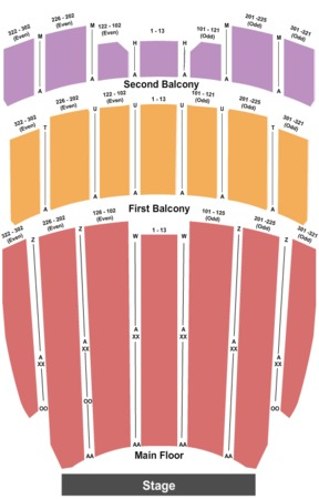 Elliott Hall Of Music Tickets in West Lafayette Indiana, Seating ...