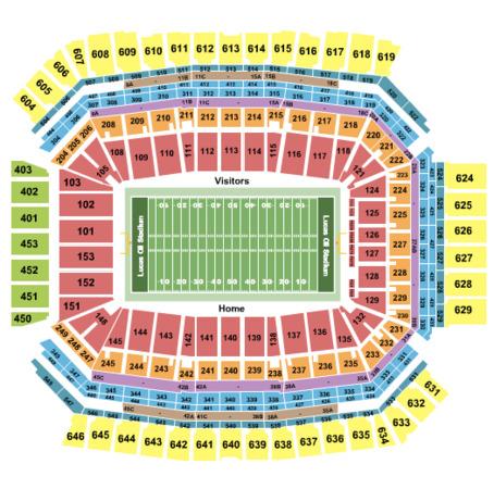 Lucas Oil Stadium Tickets Indianapolis Indiana Lucas Oil