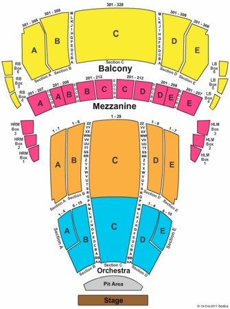 radio city music hall detailed seating chart pdf
