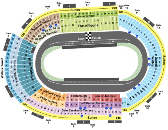 Bristol Motor Speedway Tickets In Bristol Tennessee