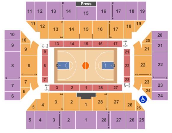 Floyd l maines veterans memorial arena tickets in binghamton new