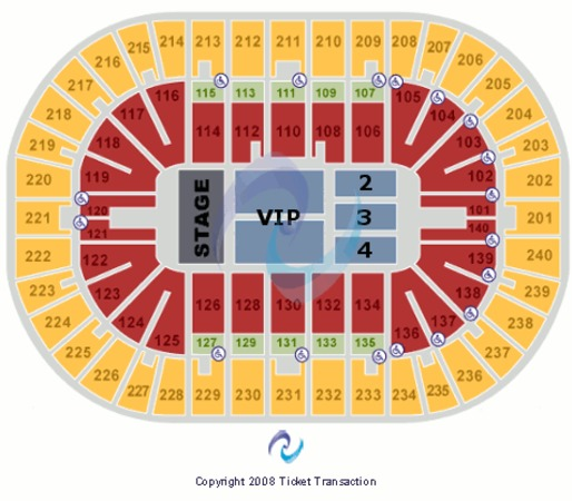 US Bank Arena End Stage VIP