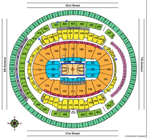 knicks tickets madison square garden madison square garden tickets in new york seating charts