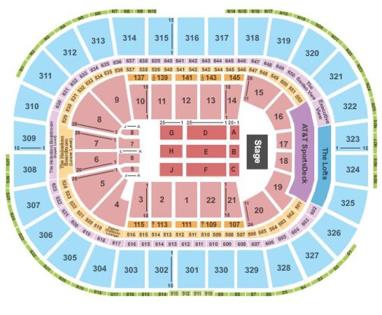 boston garden events. TD Garden Endstage 2 Boston Events O