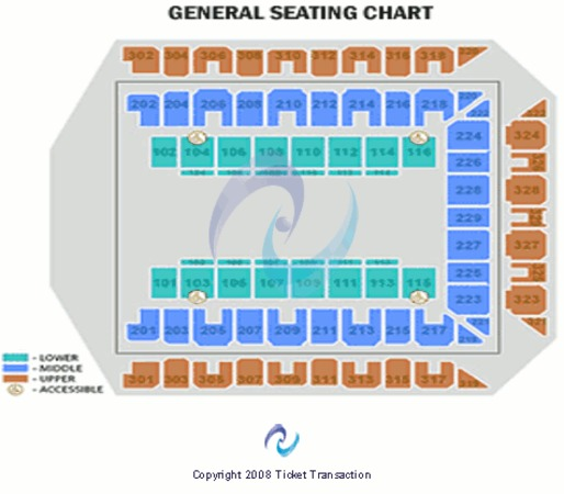 Royal Farms Arena General Seating